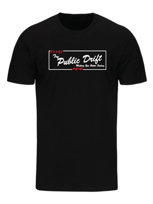 Try Public Drift T-Shirt by Driff Raff