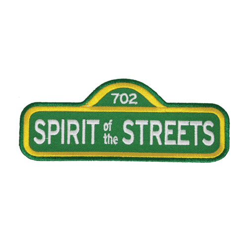 Spirit of the Streets Embroidered Patch by Vegasdrift