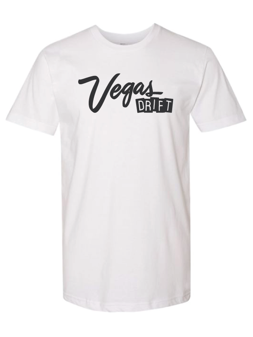 City Life on White T-shirt by Vegasdrift