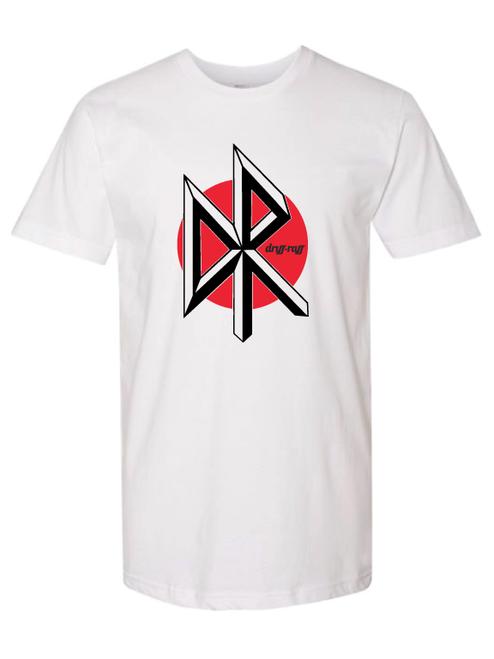 Slam Dance White T-Shirt by Driff Raff