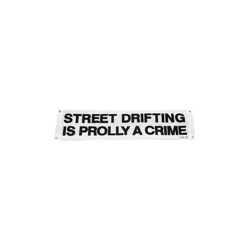 Mini Street Drifting is Prolly a Crime Shop Flag by Driff Raff