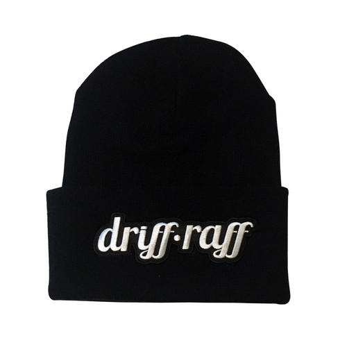 Classic Black Beanie with Cuff | By Driff Raff