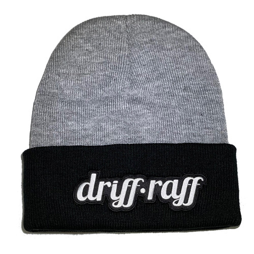 Classic Heather Beanie with Black Cuff | By Driff Raff