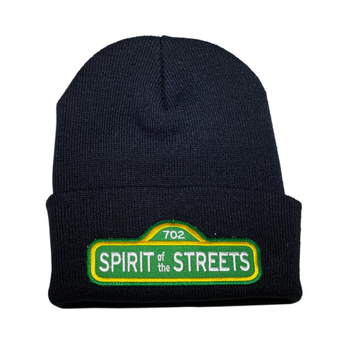 Black Spirit of the Streets Beanie | By Driff Raff