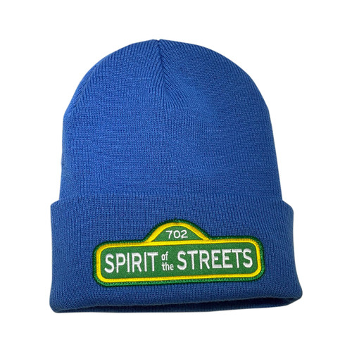 Blue Spirit of the Streets Beanie | By Driff Raff