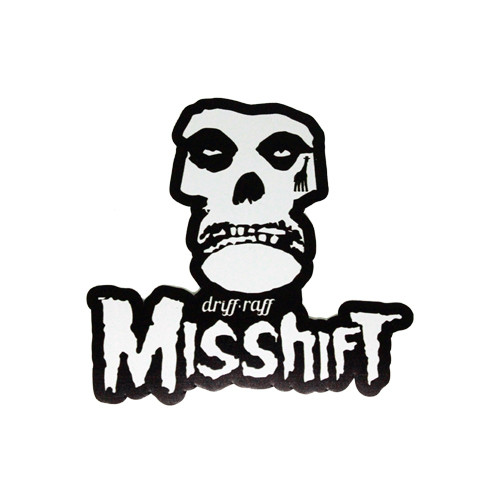 Misshift Sticker | by Driff•Raff