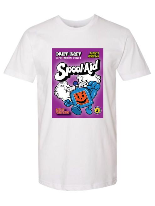 Spool Aid White T-Shirt | By Driff Raff