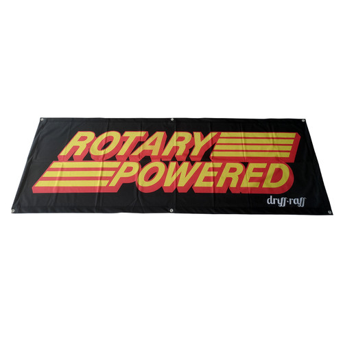 Rotary Powered Shop Flag | by Driff•Raff