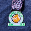 Raptor Run Race Shirt & Medal