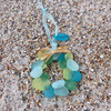 SeaGlass Wreath Ornament