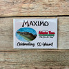Maximo's 50th Magnet