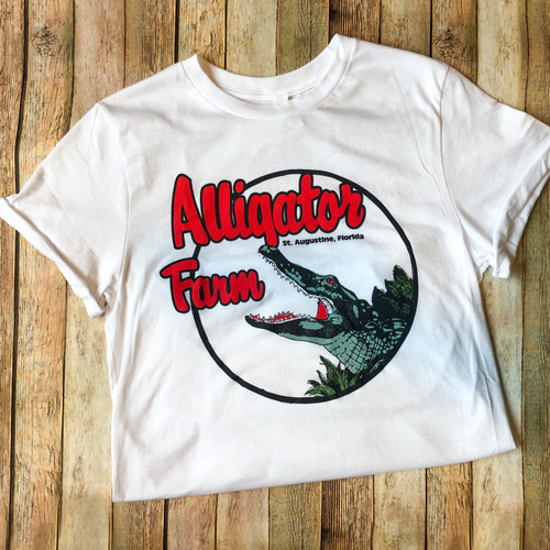 "Alligator Farm ""Tom Petty"" Shirt  with Rolled Sleeves"