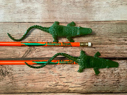 Pencils with Alligators (Pack of 10)