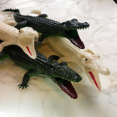 Squeaky Alligator Toys