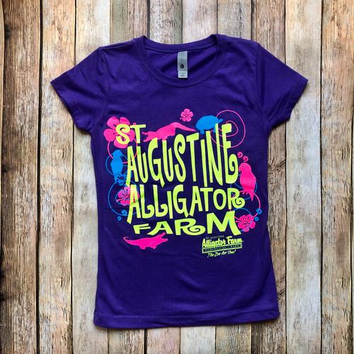 Purple SAAF Kids Shirt