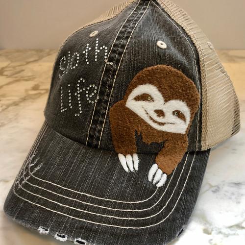 Sloth Life Hat