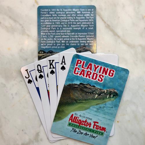 St. Augustine Alligator Farm Playing Cards