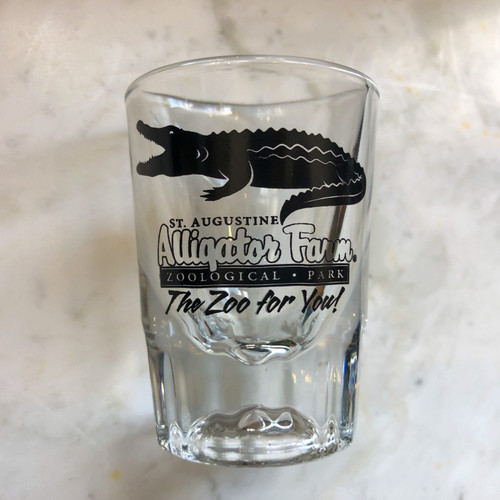Alligator Farm Whiskey Shot Glass