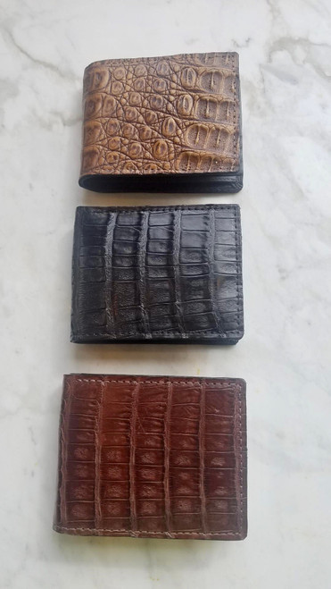 Alligator Skin Wallets