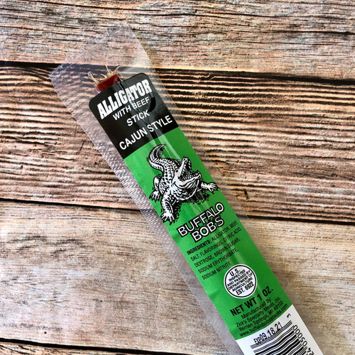 Cajun Alligator Jerky (Stick)