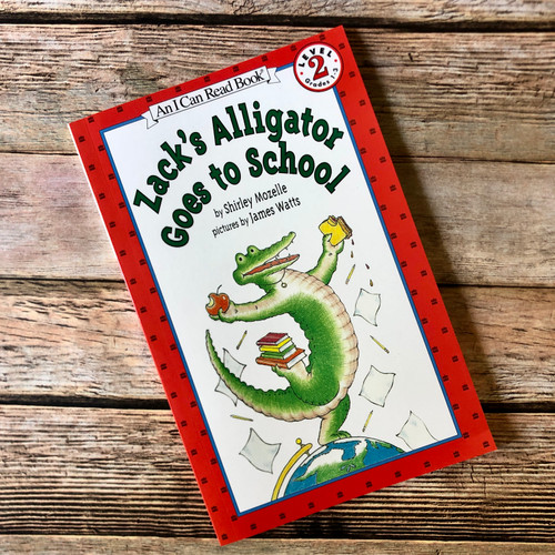 Zack's Alligator Goes to School Book