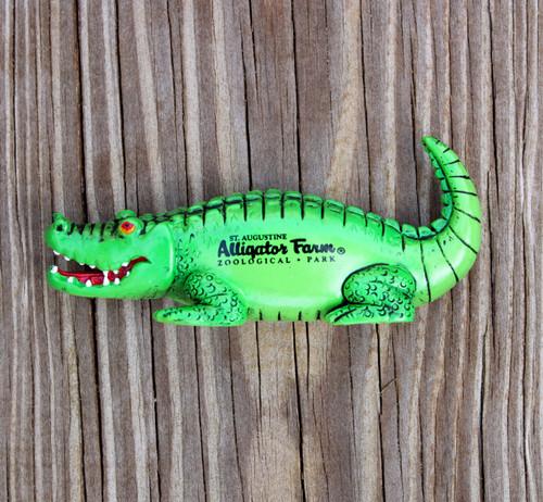 Rubber Alligator Magnet