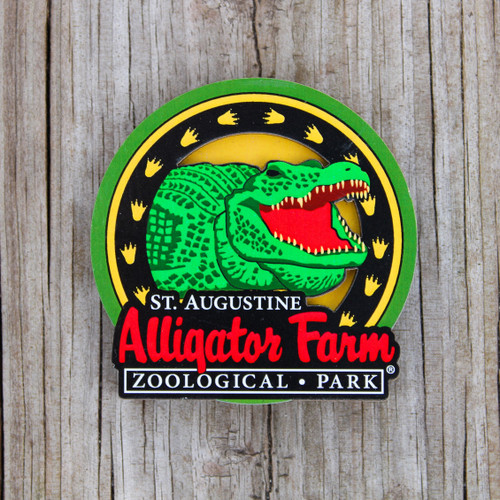 Sunburst Alligator Magnet