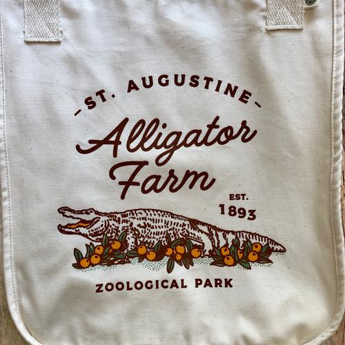 Alligators & Oranges Tote Bag