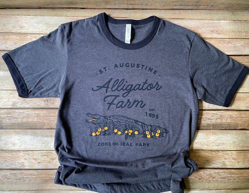 Blue Ringer Alligators & Oranges Shirt
