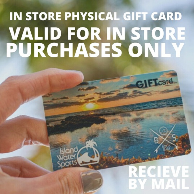 In-Store Gift Card  (Valid for In Store Purchases Only)