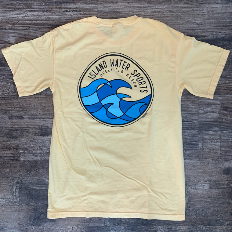 Island Water Sports Color Block Waves S/S Tee