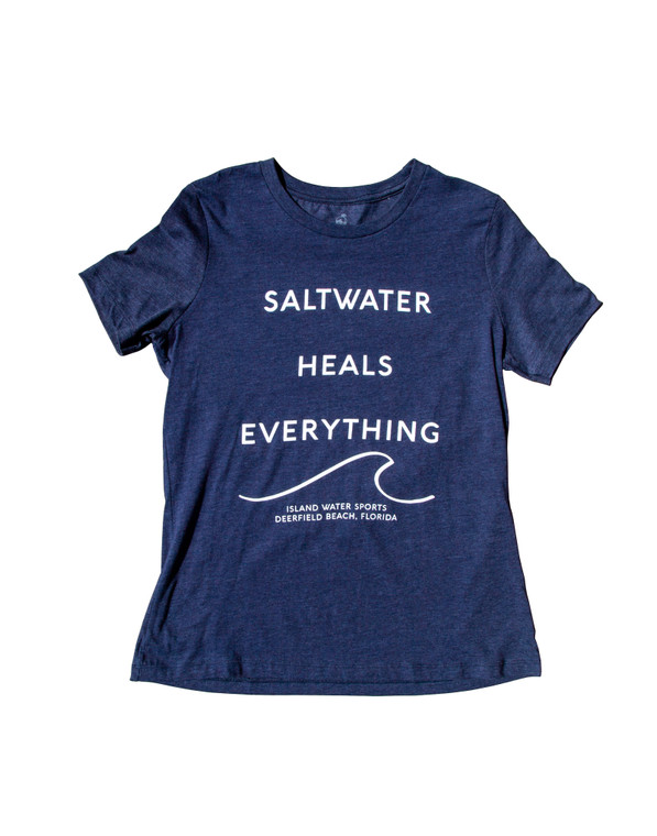 IWS Saltwater Heals Everything Relaxed S/S Tee