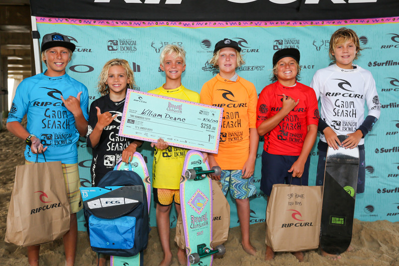 Two IWS Team Riders Qualify for the Rip Curl Grom Search Finals in Waco