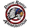 """5"""" Down Range Ammunition Sticker"""
