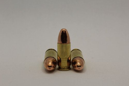 9mm - 124 Grain Plated Round Nose - New