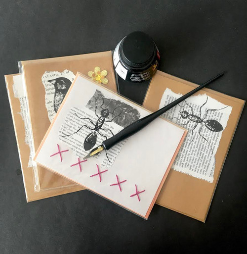 Take the time to send a card, to use a special pen. Anything that slows you down is good.