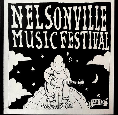 Nelsonville Music Festival Poster 2012