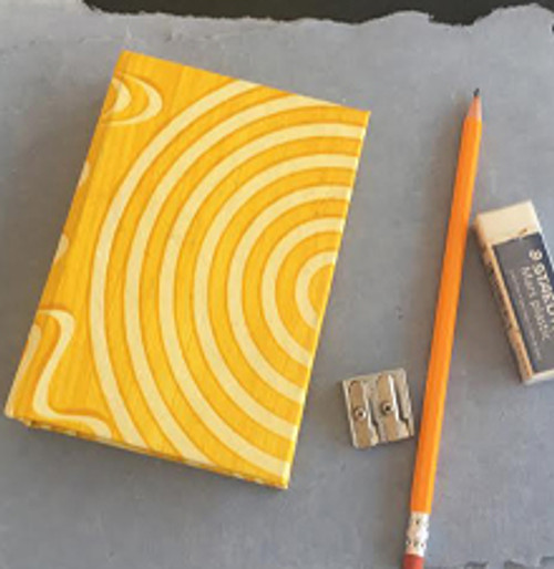 Yellow hardcover book