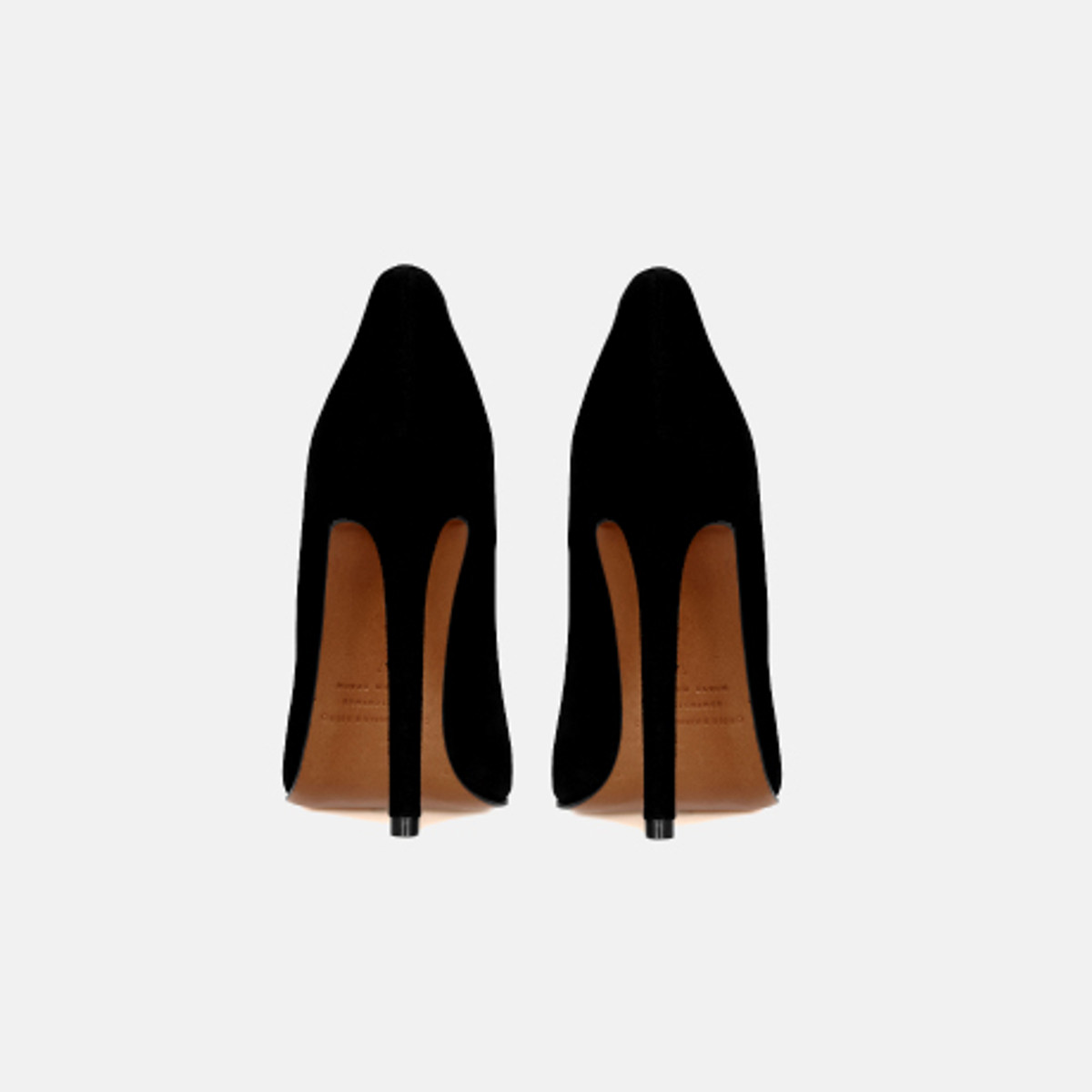 BETTY PUMP Black Suede