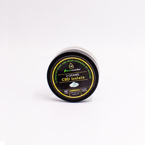 Full Spectrum CBD Isolate Puck Powder.