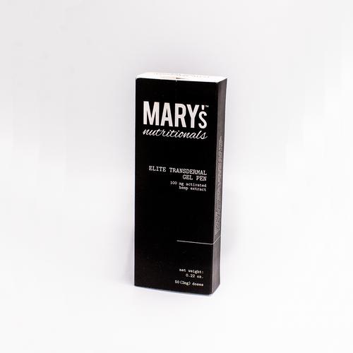 Mary's Nutritionals CBD Elite Transdermal Gel Pen.