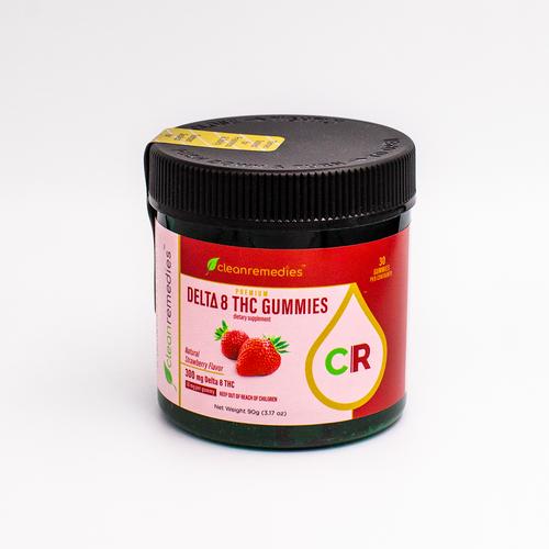 Clean Remedies Delta-8 Gummies.