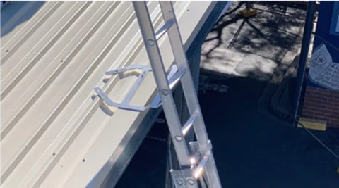 How to Install ANKAme Temporary & Permanent Ladder Access Bracket Roof and Wall Mounted