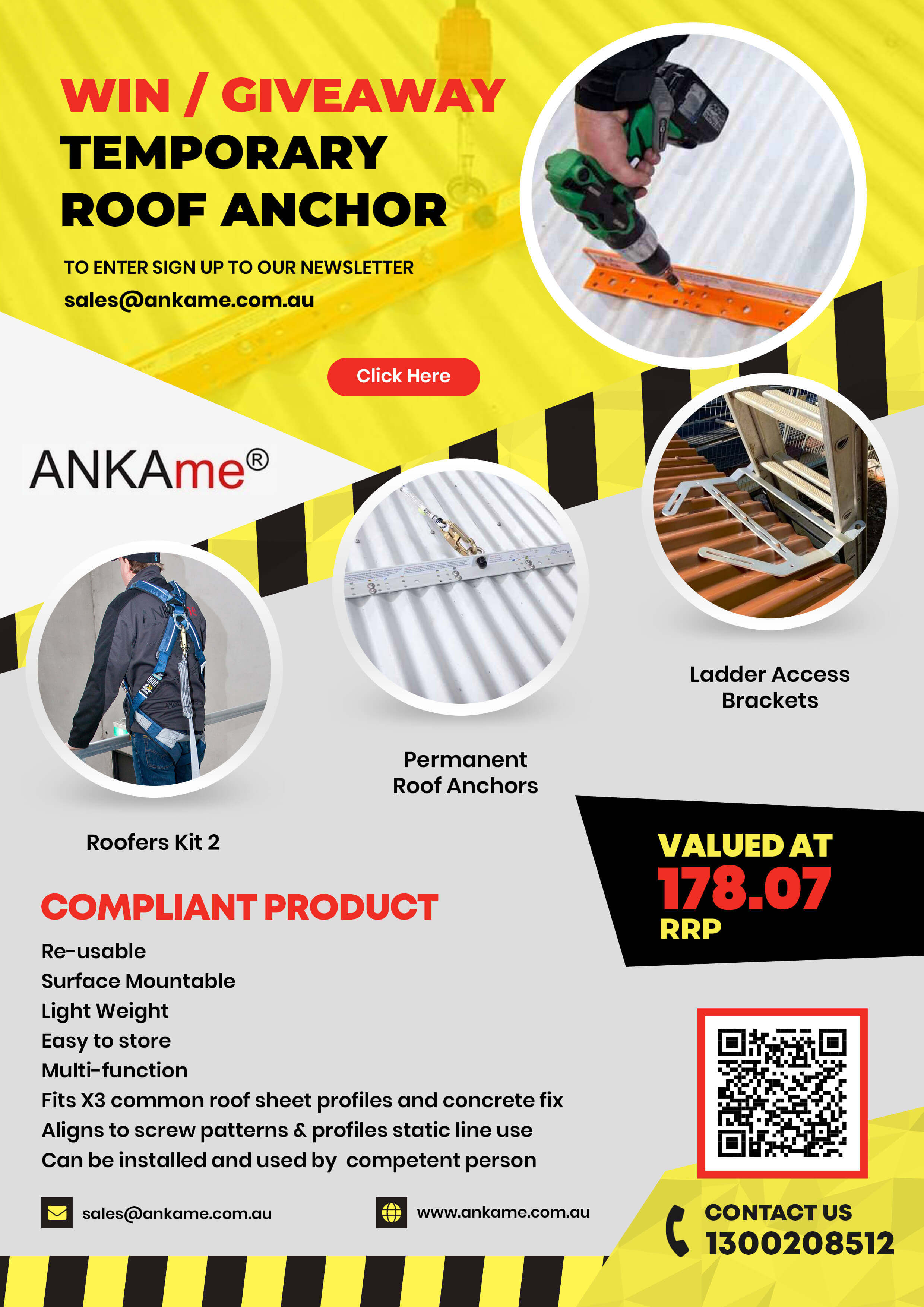Permanent Roof Anchors
