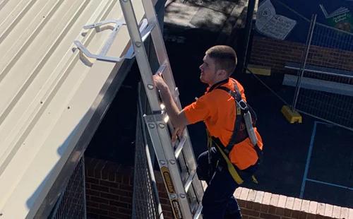 Ladder Acces Brackets