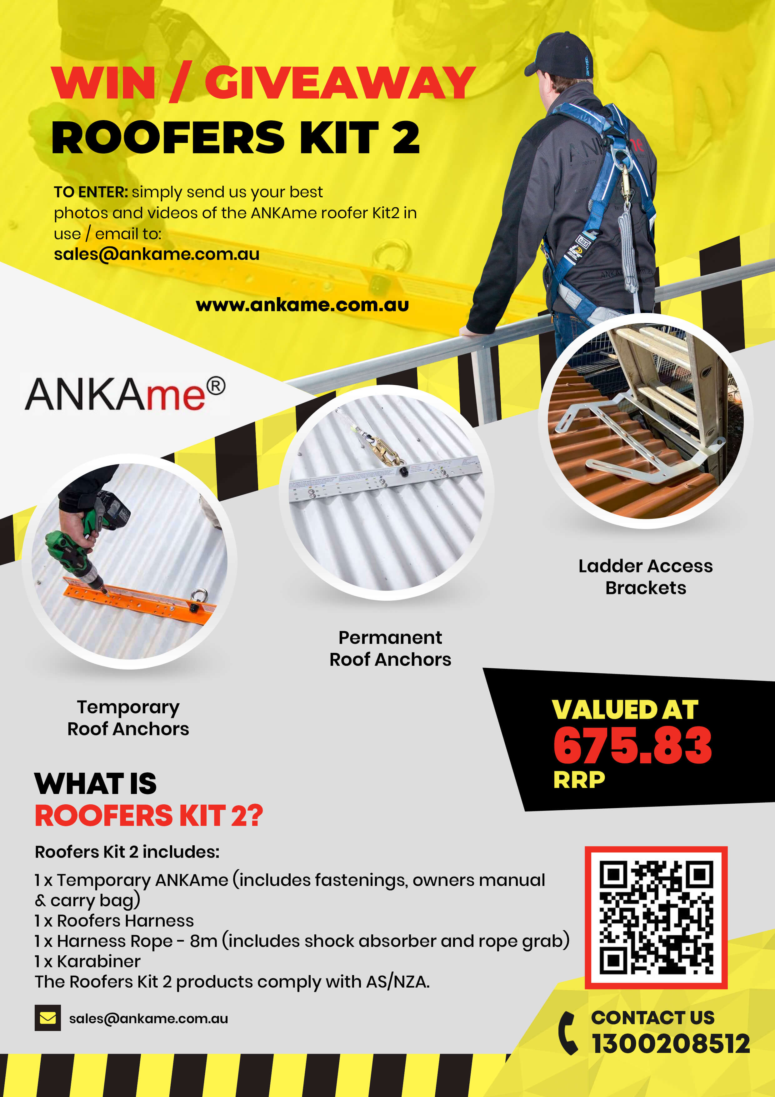 Win a roofers kit 2