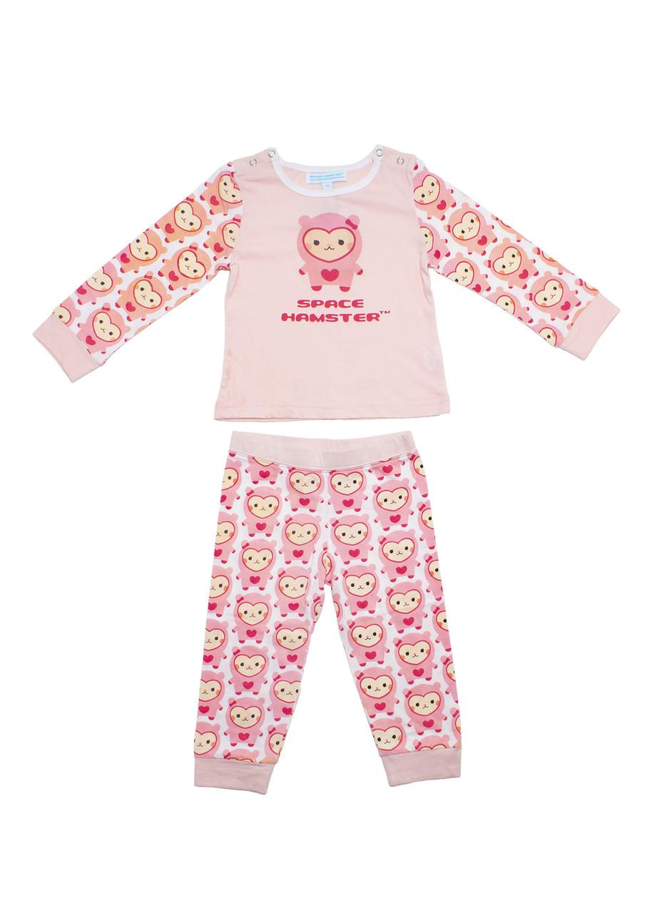 aedd3566f310 Space Hamster™ Ruby Pink Child Pajama PJ Set
