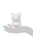 Amuse Rainbow Alpaca Plush Keychain