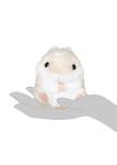 Amuse Brown Hamster Plush Keychain
