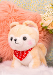 Amuse Medium Cream Shiba Inu Plush Stuffed Animal, Lifestyle